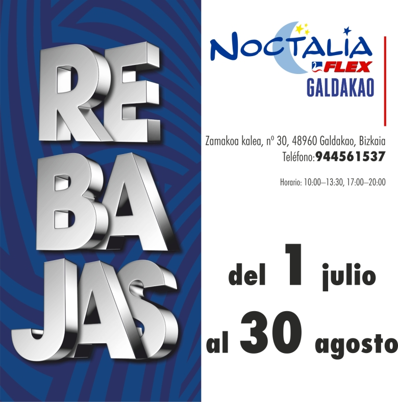 Noctalia Galdakao_REBAJAS
