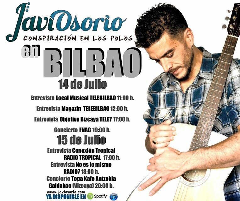 Javi Osorio- Presentación de su nuevo disco.