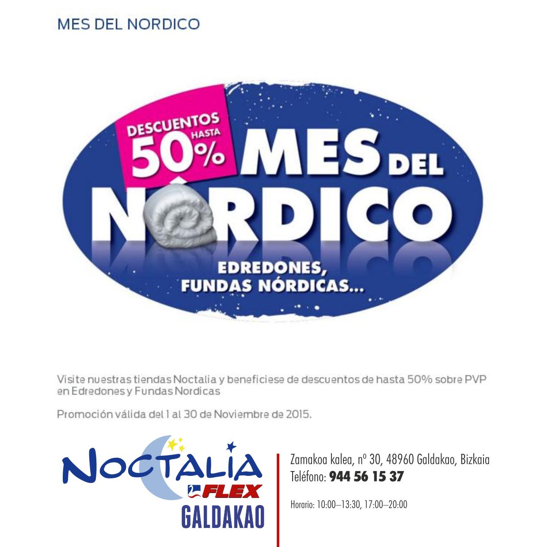 Edredon Nordico Noctalia Flex.Noctalia Mes Del Nordico Galdakao Dendari Elkartea