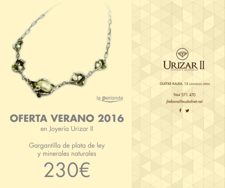 Collar la Perionda 230€ UrizarII Joyeria